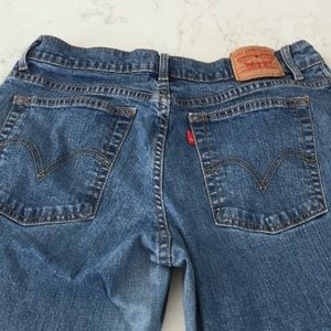 Levi's relaxed fit boot cut jeans size 14